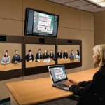 HP's video conferencing studio set to ground work-related air travel